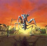 Giant Praying Mantises