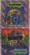 Goosebumps 50 Calling All Creeps metallic stickers