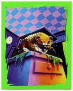 18 Monster Blood II 1996 Merlin sticker