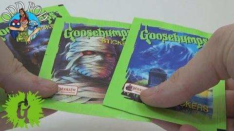 Goosebumps Stickers 1996 Opening
