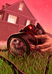 Say Cheese and Die! - Original Classic Goosebumps Illustration