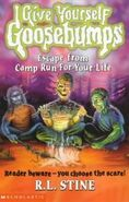 Escape from Camp Run-For-Your-Life - UK Cover