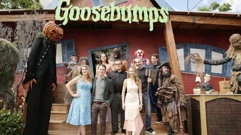 Goosebumps Premiere - Jack Black, Odeya Rush, Halston Sage, Dylan Minnette, Ryan Lee, Slappy