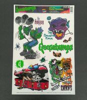 Goosebumps-stickers
