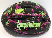 Goosebumps Sport bike helmet pink black spiders