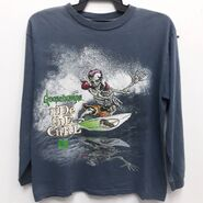 GB Curly Ride the Curl sweatshirt front