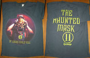 11 Haunted Mask Looks Could Kill T-shirt f+b