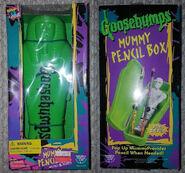 Mummy Pencil Box in pkg f+b