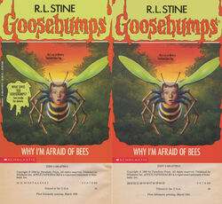 OS 17 Why Im Afraid of Bees 1stpr vs 13thpr covers and cpy page