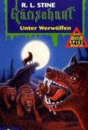 Night in Werewolf Woods - German Cover - Unter Werwölfen