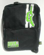 XXL Curly logo 90s GB black backpack pyramid