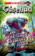 The Abominable Snowman of Pasadena - Danish Classic Cover - Den afskyelige snemand i solen