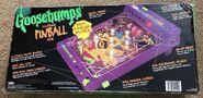 Mummy Electronic Pinball Game Box back
