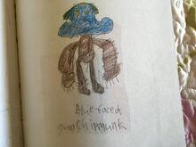 Blue-Faced Giant Chipmunk