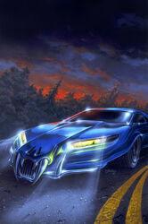 GBS2K-21The Haunted Car
