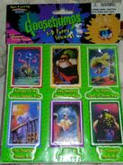 Goosebumps 3D Puffy Stickers 1996 books