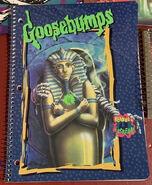 23 Return Mummy spiral notebook