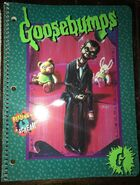 31 Night Living Dummy II Slappy spiral notebook
