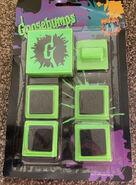 Goosebumps 4 Stamper Set 1997 in pkg