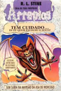 Trapped in Bat Wing Hall - Portuguese Cover