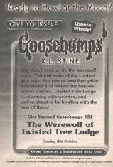 GYG 31 Werewolf Twisted Tree Lodge bookad from GYG SE4