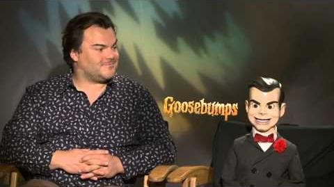 Goosebumps Interview Jack Black and Slappy