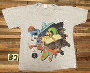 42 Egg Monsters Mars splatbrdr grey t-shirt nb