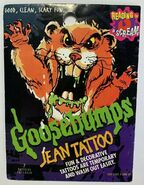 Goosebumps Jean Tattoos package front Cuddles