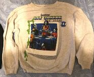 44 Say Cheese and Die Again sweatshirt front