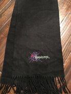 Goosebumps Spiderweb winter scarf