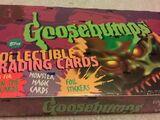 Goosebumps trading cards