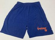Orange GB logo 1995 blue shorts