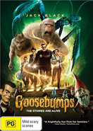 Goosebumps AUS DVD