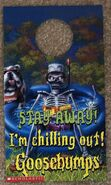 Tales 3 Stay Away Im Chilling Out Doorknob hanger