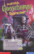 Official GB Scarezine 2 newletter cover