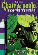 Claws! - French Cover - Le château de l'horreur