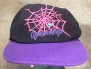 GB spiderweb pink purple hat Berkshire
