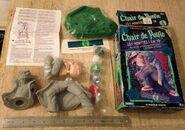 Haunted Mask 3d Paint Kit inside