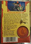 34 keychain Lawn Gnomes Hologram keychain back