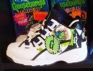 39 Shrunken Head Tennis Shoes