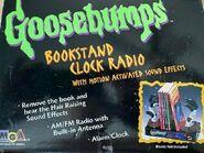 Bookstand Clock Radio box back