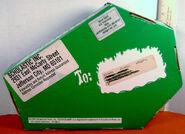 1996 Fan Club Green coffin case back w postage stickers