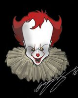 Pennywise Clown (black)