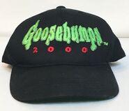 Goosebumps 2000 green logo black hat cap Annco
