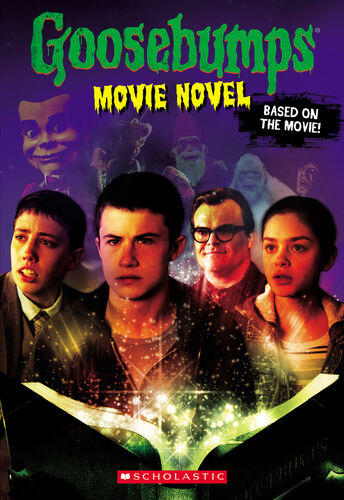 Goosebumps movie novel goosebumps wiki fandom powered - Goosebumps werewolf in the living room ...