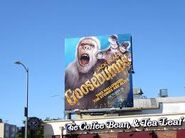 Abominable Snowman billboard