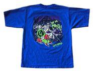 You Go Ghoul mummy skateboard 1997 blue shirt