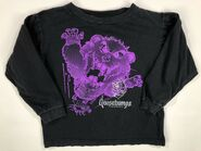 Cuddles purple line art 1996 long sleeve shirt
