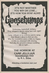OS 33 Horror at Camp Jellyjam bookad from OS32