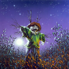 The Scarecrow Walks At Midnight - artwork
